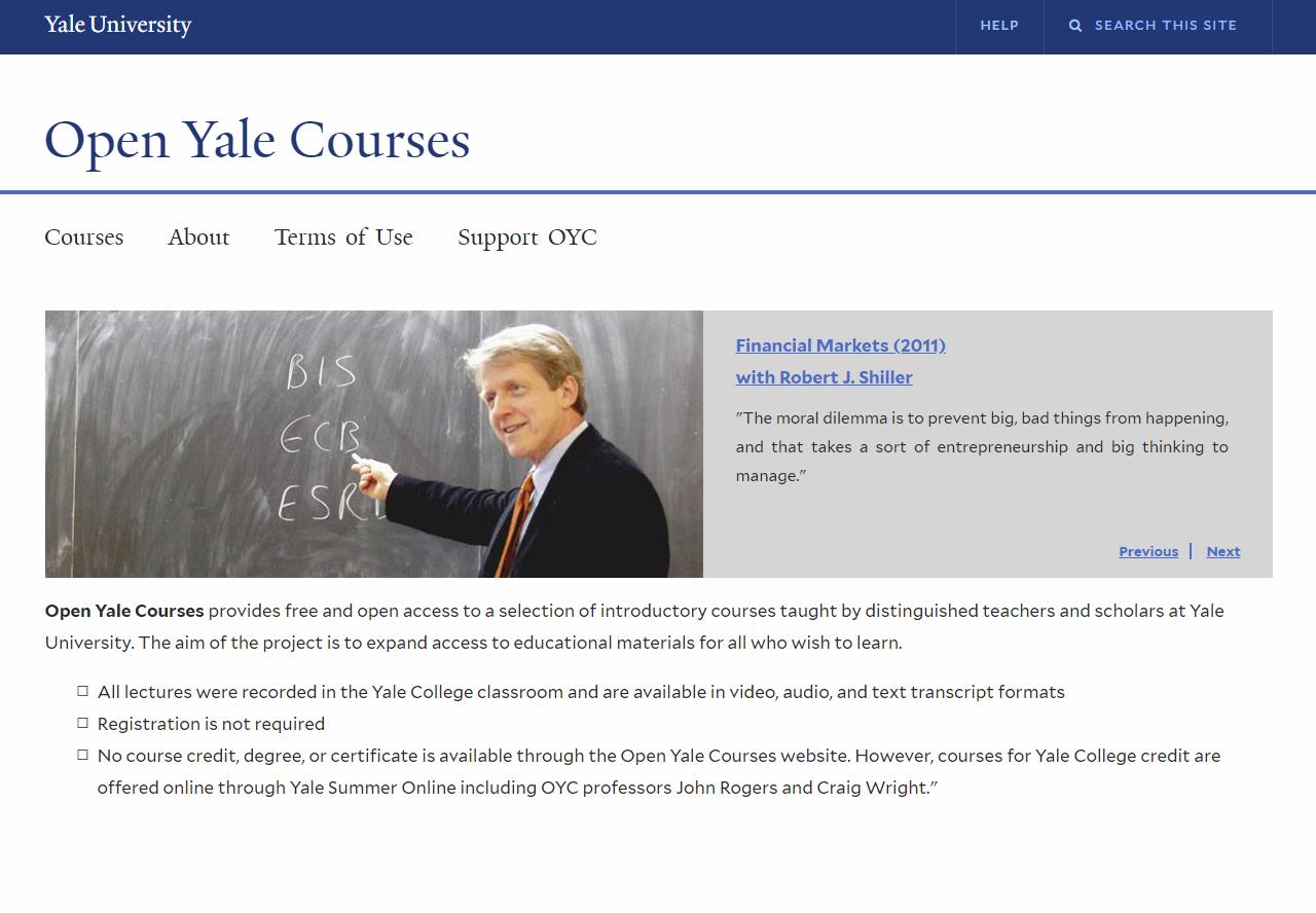 yale free courses online  »  9 Image »  Amazing..!